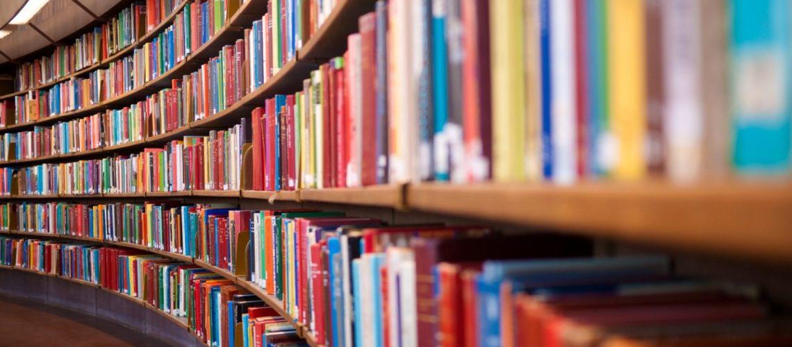תמונת רקע - ספריה